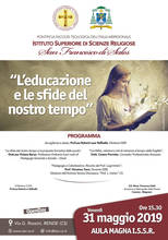 Open day Istituto Scienze Religiose San Francesco di Sales - Rende
